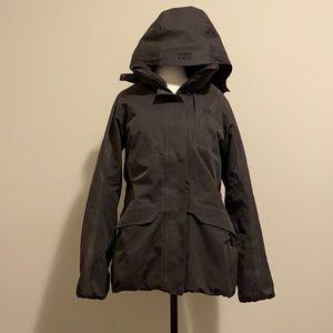 Helly Hansen Winter Coat Jacket Size Medium Snowboard Ski Warm Double Collar